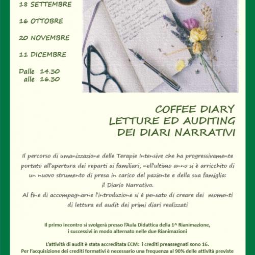 Coffee Diary 14:30-16:30